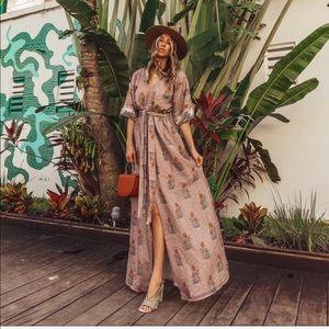 NEW ANTHROPOLOGIE SACHIN + BABI Isolde Maxi Dress
